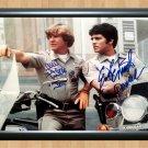 "Erik Eric Estrada Larry Wilcox Chips Signed Autographed Photo Poster tv779 A2 16.5x23.4"""