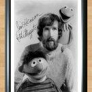 "Jim Henson Kermit Signed Autographed Photo Poster 3 tv829 A2 16.5x23.4"""