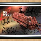 """Red Dwarf Cast Signed Autographed Photo Poster 1 tv910 A2 16.5x23.4"""""""