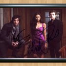 """The Vampire Diaries Cast Signed Autographed Photo Poster 2 tv955 A2 16.5x23.4"""""""