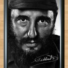 "Fidel Castro Kastro Cuba Memorabilia Signed Autographed Print Photo Poster 3 h20 A4 8.3x11.7"""""
