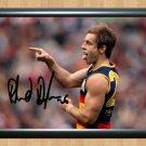 "Richard Douglas Adelaide Crows Autographed Signed Photo Poster Memorabilia 2 afl32 A4 8.3x11.7"""""
