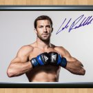 "Luke Rockhold UFC MMA Signed Autographed Print Photo Print Memorabilia 1 ufc39 A4 8.3x11.7"""""