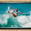 """Stephanie Gilmore Surfing Surfer Surf Signed Autograph Poster Photo Print sur7 A3 11.7x16.5"""""""""""