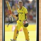 "David Warner Cricket World Signed Autographed Poster Photo Print Memorabilia cri8 A2 16.5x23.4"""
