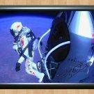 "Felix Baumgartner Signed Photo Autograph Print Poster World Record Skydive Jump 2 exs3 A2 16.5x23.4"""