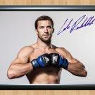 "Luke Rockhold UFC MMA Signed Autographed Print Photo Print Memorabilia 1 ufc39 A2 16.5x23.4"""