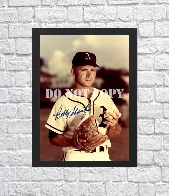 "Bobby Shantz Signed Autographed Photo Poster bas31 A4 8.3x11.7"""""
