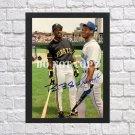 """Barry bonds Ken Griffey Jr Signed Autographed Photo Poster bas26 A4 8.3x11.7"""""""""""