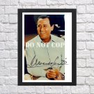 """Alberto Sordi Autographed Signed Print Photo Poster mo1547 A4 8.3x11.7"""""""""""