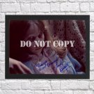 """Linda Blair The Exorcist Autographed Signed Print Photo Poster mo1517 A4 8.3x11.7"""""""""""