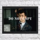 """Doctor Dr Who David Tennant Autographed Signed Print Photo Poster 2 mo1462 A4 8.3x11.7"""""""""""