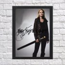 """Emma Swan Once Upon a Time in Middle Earth Autographed Signed Photo Poster mo1079 A4 8.3x11.7"""""""""""