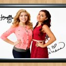 """Jennette McCurdy Ariana Grande Sam and Cat Signed Autographed Photo Poster 2 tv920 A4 8.3x11.7"""""""""""