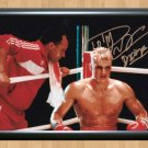 """Dolph Lundgren Rocky IV Signed Autographed Photo Poster Memorabilia 1 mo1015 A4 8.3x11.7"""""""""""