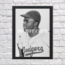 """Jackie Robinson Signed Autographed Photo Poster 4 bas48 A3 11.7x16.5"""""""""""