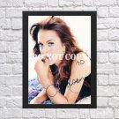"Lindsay Lohan Signed Autographed Photo Poster 1 mo1662 A3 11.7x16.5"""""