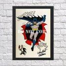 "Batman Robin Adam West Burt Ward Signed Autographed Photo Poster 2 mo1629 A3 11.7x16.5"""""