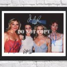 """Sex And The City Cast Signed Autographed Photo Poster 4 tv1108 A3 11.7x16.5"""""""""""