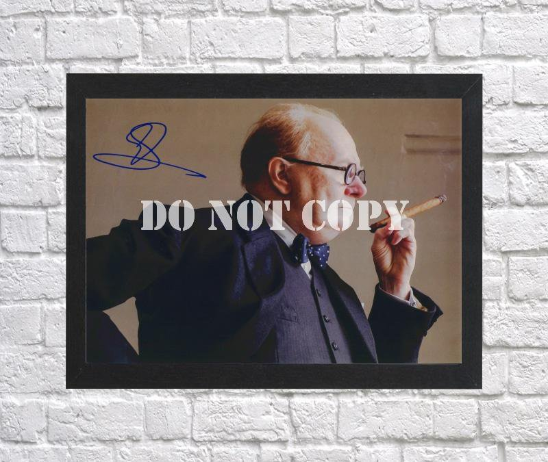 """Gary Oldman Autographed Signed Print Photo Poster mo1527 A3 11.7x16.5"""""""""""
