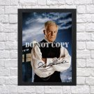 """Doctor Dr Who Derek Jacobi Autographed Signed Print Photo Poster mo1463 A3 11.7x16.5"""""""""""