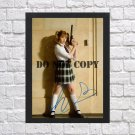"Chloe Moretz Kick Ass Autographed Signed Print Photo Poster mo1070 A3 11.7x16.5"""""