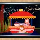 """South Park Matt Stone Trey Parker Signed Autographed Photo Poster tv931 A3 11.7x16.5"""""""""""