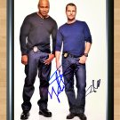 """NCIS Chris O'Donnell LL Cool J Signed Autographed Photo Poster tv877 A3 11.7x16.5"""""""""""