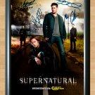 "Supernatural Cast Signed Autographed Photo Poster 1 tv771 A3 11.7x16.5"""""