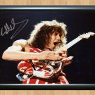"Eddie Van Halen Signed Autographed Photo Poster Memorabilia 5 mu928 A3 11.7x16.5"""""