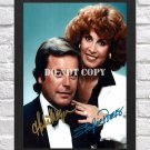 """Hart To Hart Robert Wagner Stefani Powers Signed Autographed Photo Poster 4 tv1098 A2 16.5x23.4"""""""