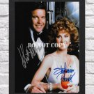 """Hart To Hart Robert Wagner Stefani Powers Signed Autographed Photo Poster 3 tv1045 A2 16.5x23.4"""""""