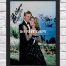 """Hart To Hart Robert Wagner Stefani Powers Signed Autographed Photo Poster 1 tv1043 A2 16.5x23.4"""""""