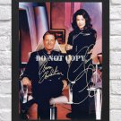 """Claudia Christian Bruce Boxleitner Babylon 5 Signed Autographed Photo Poster tv1024 A2 16.5x23.4"""""""