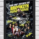 "Brooklyn Nine-Nine Cast Signed Autographed Photo Poster 2 tv1020 A2 16.5x23.4"""