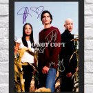 "Tom Welling Kristin Kreuk Michael Rosenbaum Signed Autographed Photo Poster tv1003 A2 16.5x23.4"""