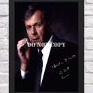 """William B. Davis X Files Signed Autographed Photo Poster tv1000 A2 16.5x23.4"""""""