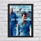 """Gemini 6A Crew Autographed Signed Print Photo Poster h97 A2 16.5x23.4"""""""