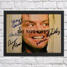 """The Shinning Cast Autographed Signed Photo Poster mo1340 A2 16.5x23.4"""""""