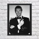 """Roger Moore James Bond 007 Autographed Signed Photo Poster 1 mo1279 A2 16.5x23.4"""""""