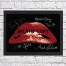 """The Rocky Horror Picture Show Cast Autographed Signed Photo Poster 1 mo1276 A2 16.5x23.4"""""""