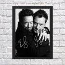 """Robert Downey Jr Jude Law Autographed Signed Photo Poster 1 mo1274 A2 16.5x23.4"""""""