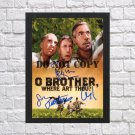 """O Brother Where Art Thou Cast Autographed Signed Photo Poster mo1246 A2 16.5x23.4"""""""