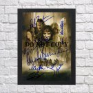 """The Lord of the Rings Cast Viggo Mortensen Autographed Signed Photo Poster mo1185 A2 16.5x23.4"""""""