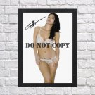 """Liliana Domínguez Autographed Signed Photo Poster mo1181 A2 16.5x23.4"""""""