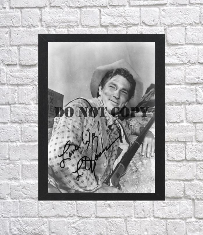 "L. Q. Jones Cowboy Autographed Signed Photo Poster mo1176 A2 16.5x23.4"""