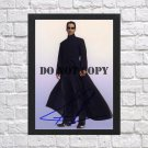 """Keanu Reeves The Matrix Autographed Signed Photo Poster 2 mo1170 A2 16.5x23.4"""""""