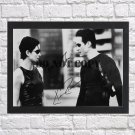 """Keanu Reeves Carrie Anne Moss The Matrix Autographed Signed Photo Poster mo1169 A2 16.5x23.4"""""""