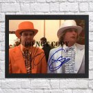"""Jim Carrey Jeff Daniels Dumb and Dumber Autographed Signed Photo Poster 1 mo1146 A2 16.5x23.4"""""""