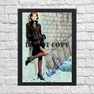 "Christy Turlington Autographed Signed Print Photo Poster mo1072 A2 16.5x23.4"""